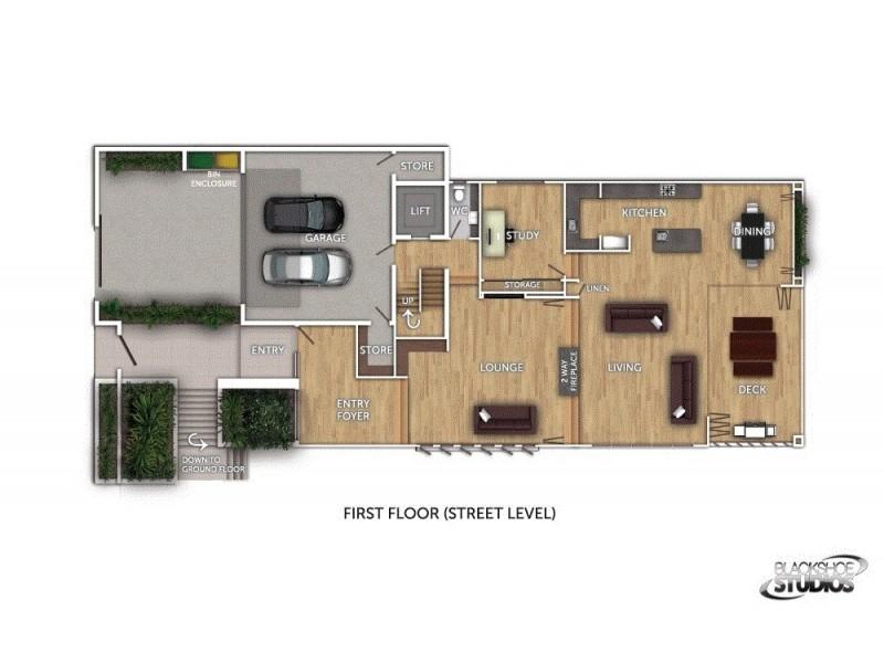 21 Wordsworth Street, Bulimba QLD 4171 Floorplan