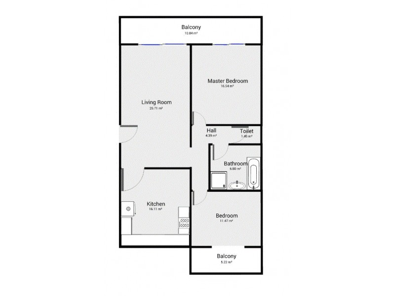 4/195 Brisbane Street, Bulimba QLD 4171 Floorplan