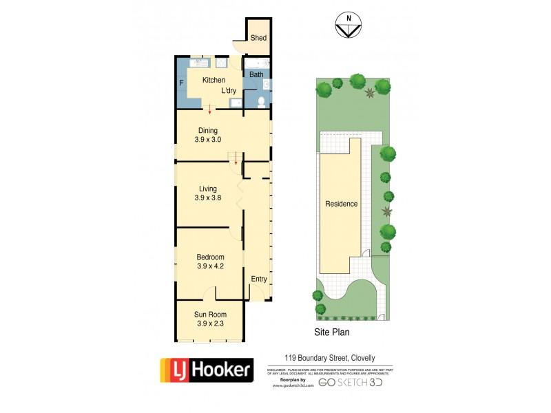 119 Boundary Street, Clovelly NSW 2031 Floorplan