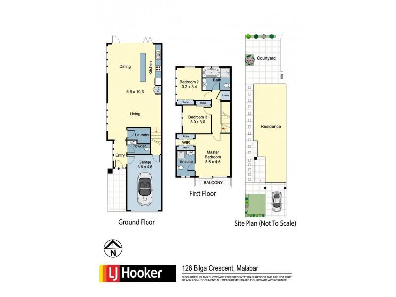 126a Bilga Crescent, Malabar NSW 2036 Floorplan