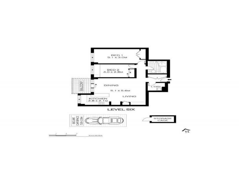 106/244 Alison Road, Randwick NSW 2031 Floorplan