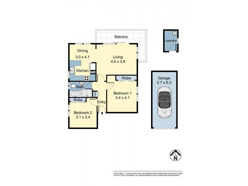 5/24 Addison Street, Kensington NSW 2033 Floorplan