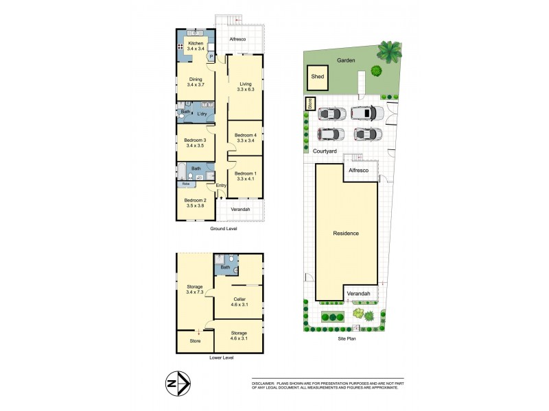 2 Flower Street, Maroubra NSW 2035 Floorplan