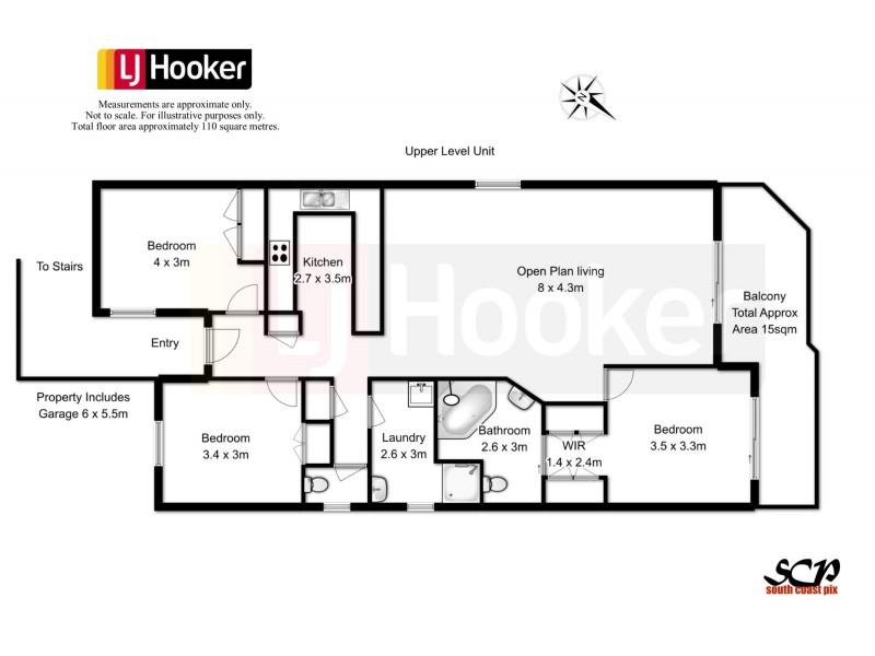 10/272 – 276 Beach Road, Batehaven NSW 2536 Floorplan