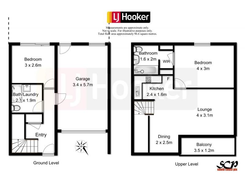 2/2 Bent Street, Batemans Bay NSW 2536 Floorplan