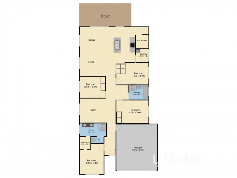11 Anser Place, Inverloch VIC 3996 Floorplan