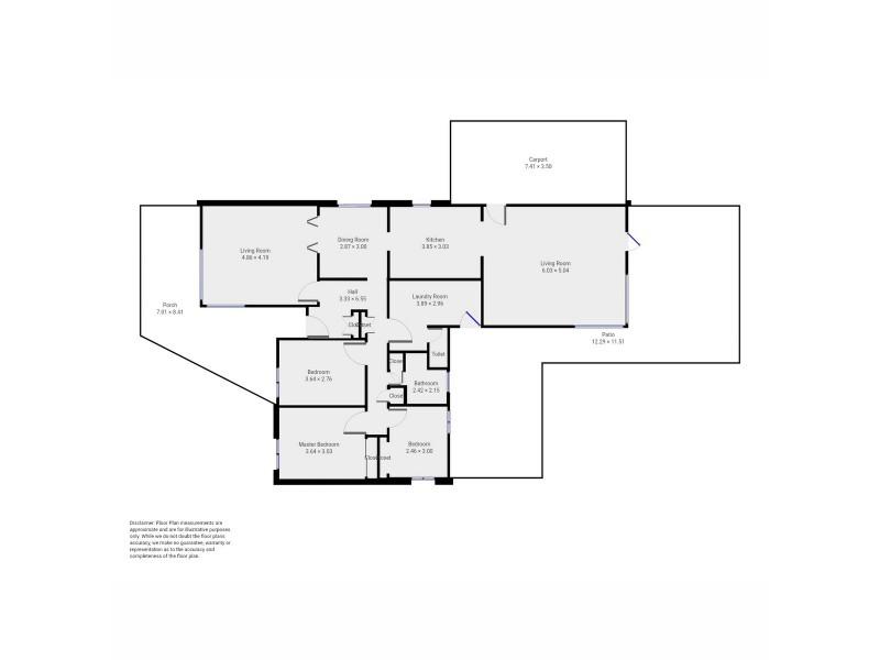 13 Wheatley Street, Manjimup WA 6258 Floorplan