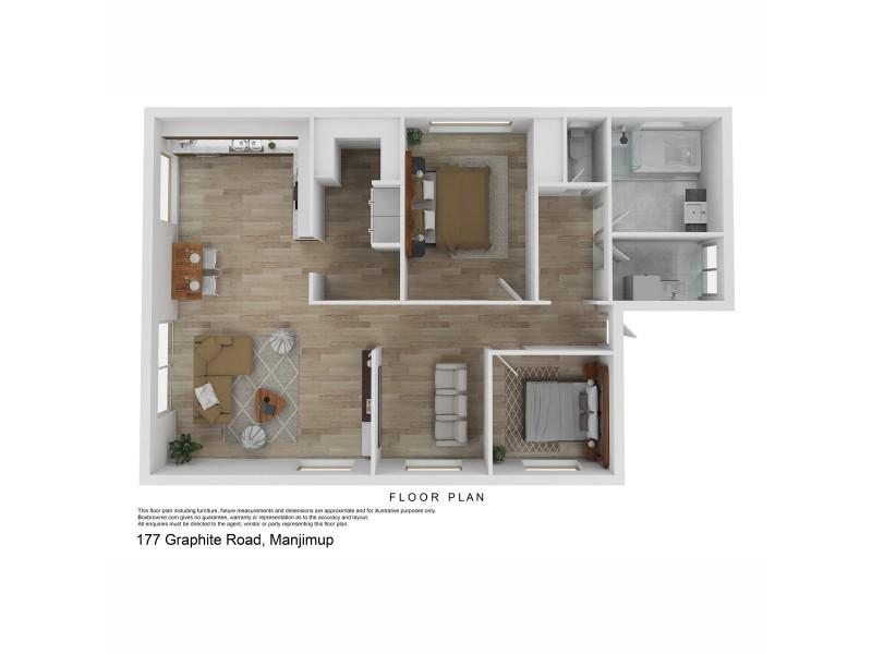 177 Graphite Road, Manjimup WA 6258 Floorplan