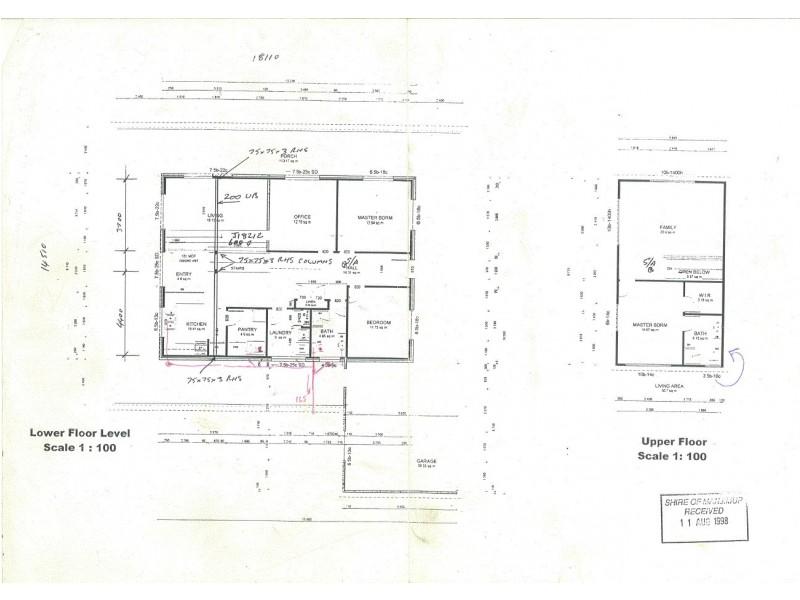 2 Chestnut Grove, Manjimup WA 6258 Floorplan