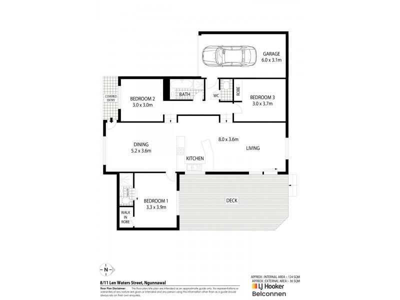 8/11 Len Waters Street, Ngunnawal ACT 2913 Floorplan