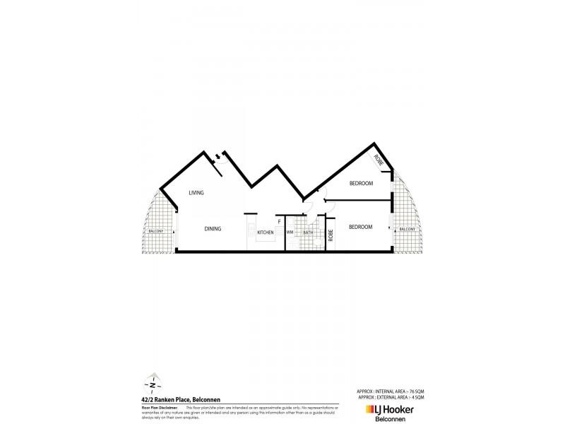 42/2 Ranken Place, Belconnen ACT 2617 Floorplan