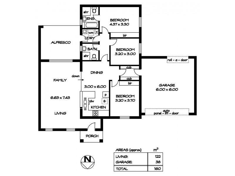 2B Broadford Crescent, Findon SA 5023 Floorplan