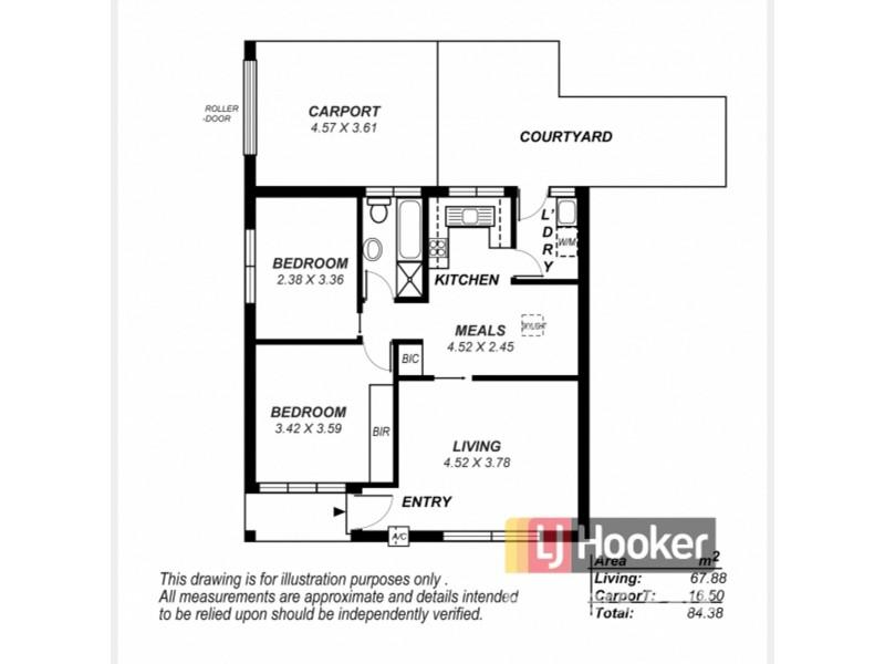 9/17 Thirza Avenue, Mitchell Park SA 5043 Floorplan