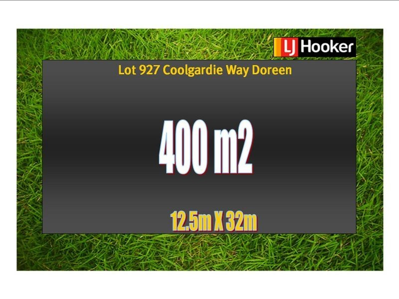 Lot 927 Coolgardie Way, Doreen VIC 3754