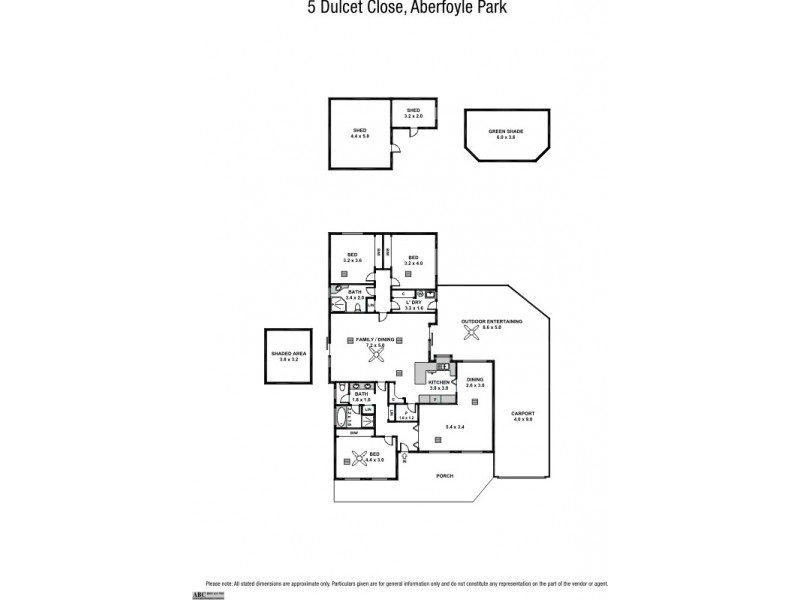 5 Dulcet Close, Aberfoyle Park SA 5159 Floorplan