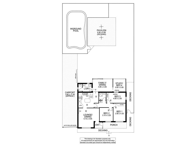 13 Orkney Avenue, Marion SA 5043 Floorplan