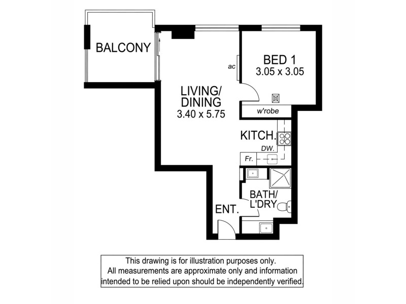 710/180 Morphett Street, Adelaide SA 5000 Floorplan