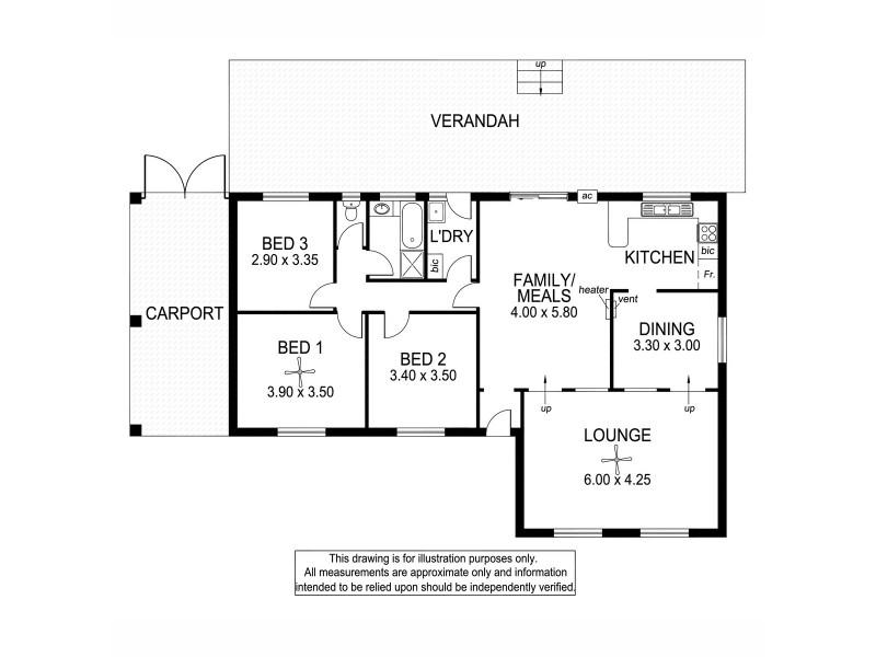 25 Warakila Road, Sheidow Park SA 5158 Floorplan
