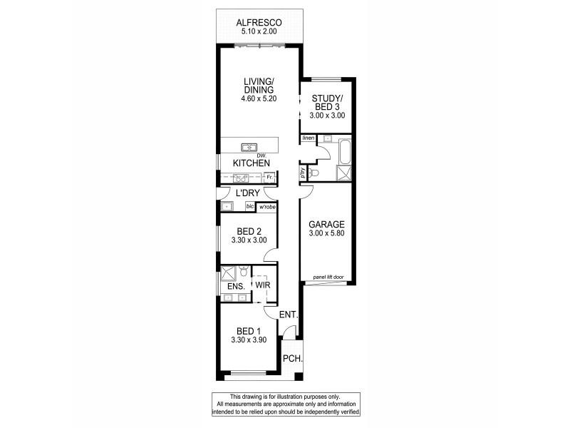9/14 Finniss Street, Marion SA 5043 Floorplan