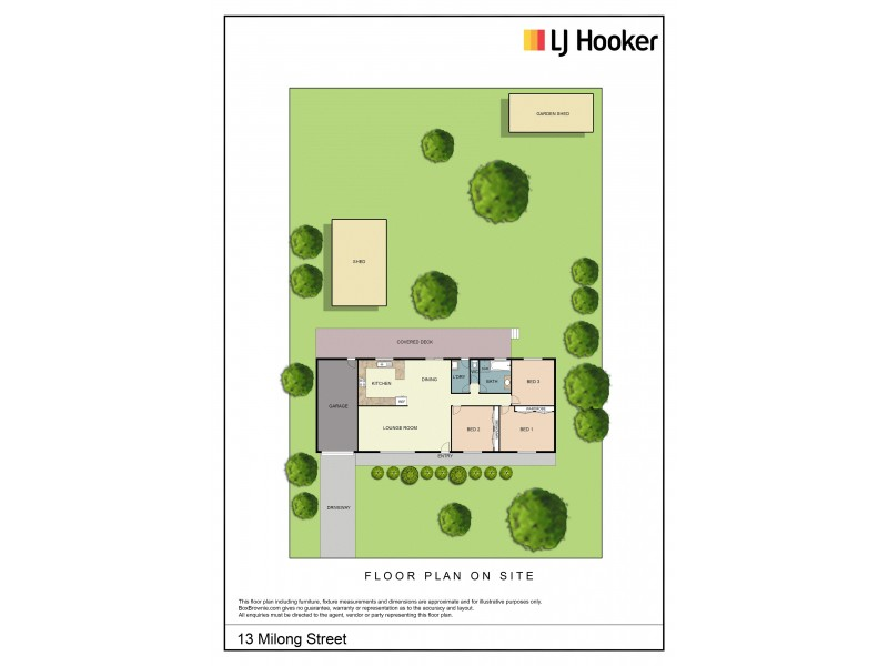 13 Milong Street, Young NSW 2594 Floorplan