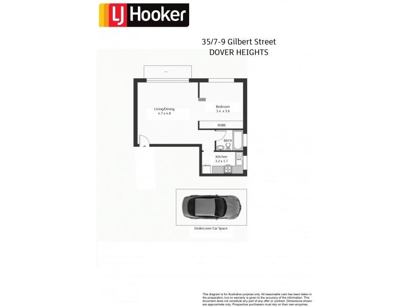 15/5-7 Kimberley Street, Vaucluse NSW 2030 Floorplan