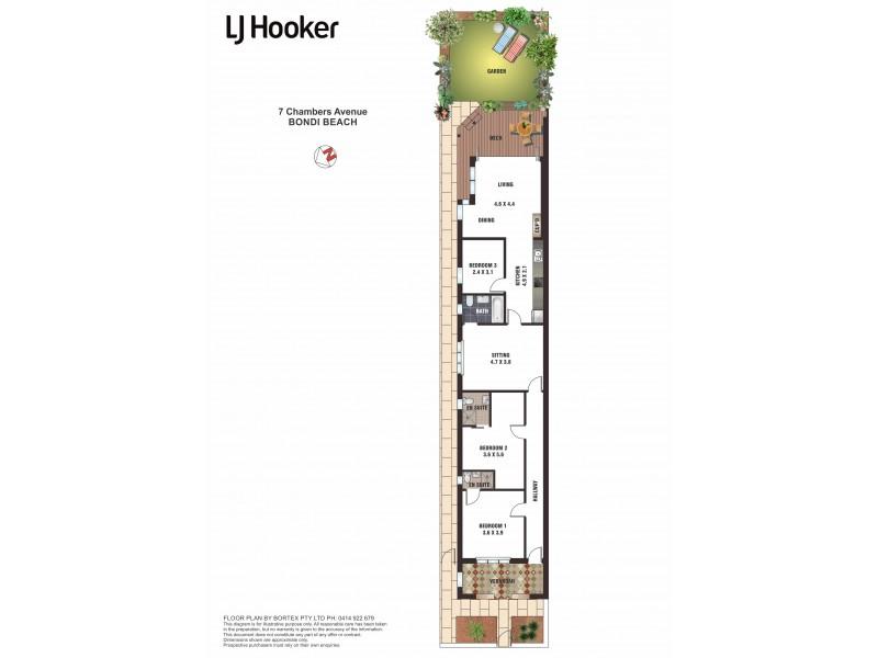 7 Chambers Avenue, Bondi Beach NSW 2026 Floorplan