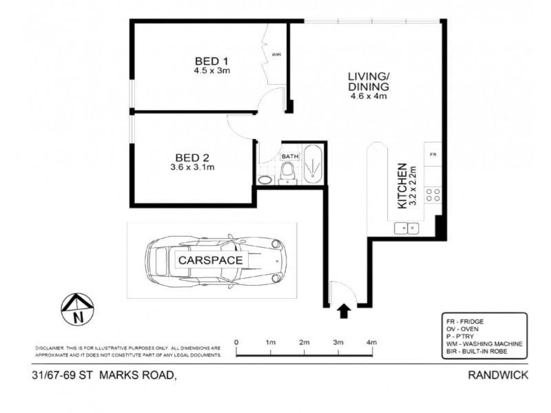 31/67 St Marks Road, Randwick NSW 2031 Floorplan