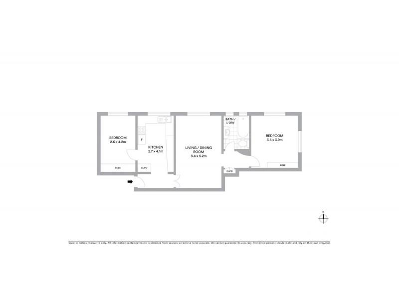 11/24 Balfour Road, Rose Bay NSW 2029 Floorplan