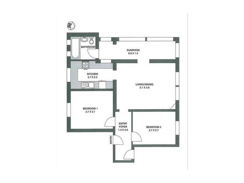 4/70 Clovelly Road, Randwick NSW 2031 Floorplan