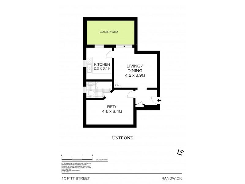 10 Pitt Street, Randwick NSW 2031 Floorplan