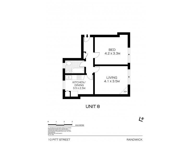 8/10 Pitt Street, Randwick NSW 2031 Floorplan