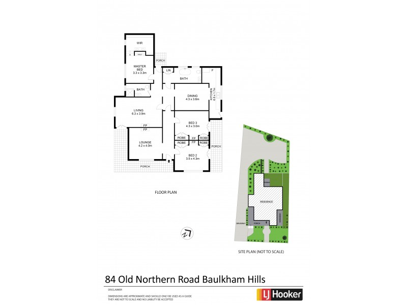 84 Old Northern Road, Baulkham Hills NSW 2153 Floorplan