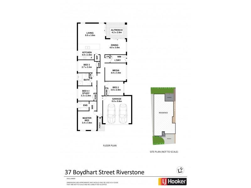 37 Boydhart Street, Riverstone NSW 2765 Floorplan