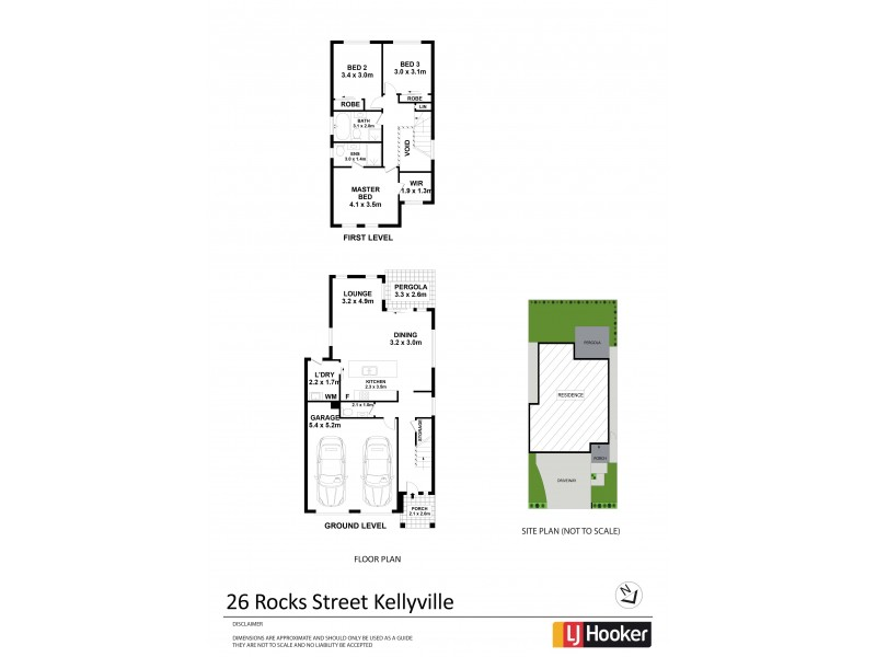 26 Rocks Street, Kellyville NSW 2155 Floorplan