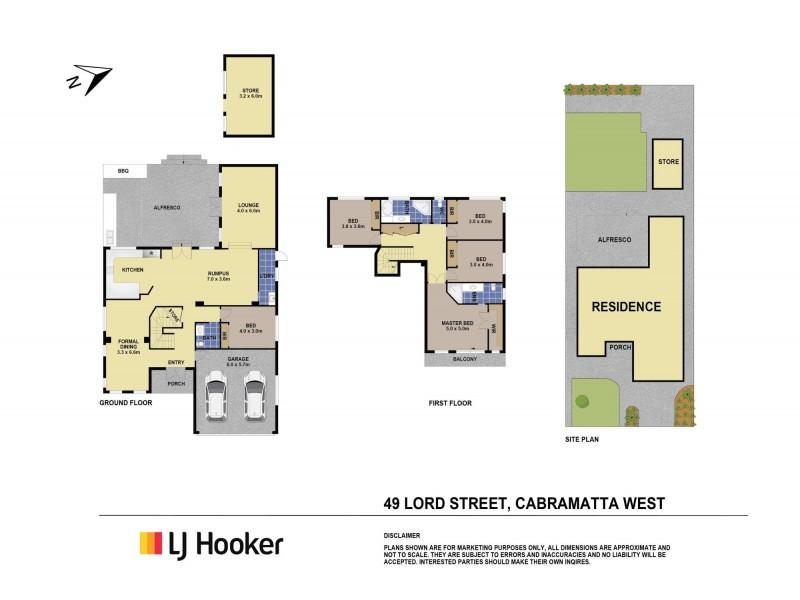 49 Lord Street, Cabramatta West NSW 2166 Floorplan