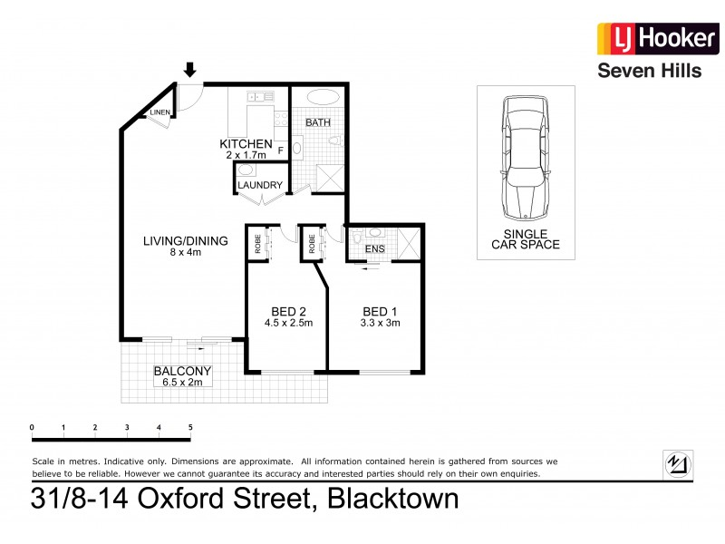 31/8-14 Oxford Street, Blacktown NSW 2148 Floorplan
