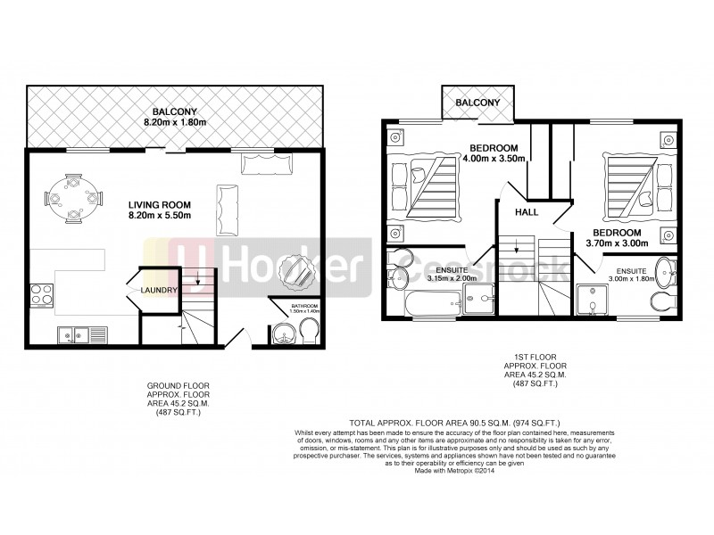 Villa 751 Cypress Lakes Resort, Pokolbin NSW 2320 Floorplan