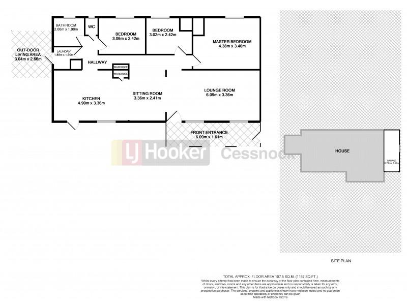 191 Matheison Street, Bellbird Heights NSW 2325 Floorplan