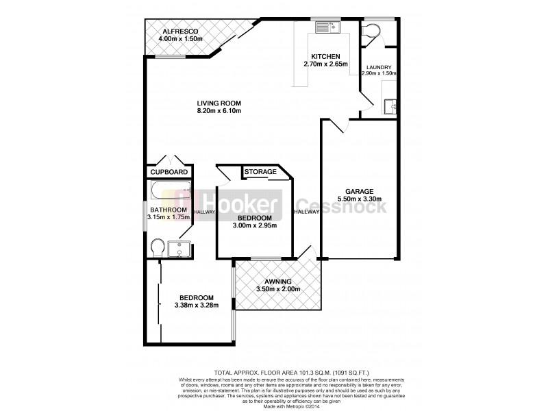 13/66 Greta Street, Aberdare NSW 2325 Floorplan