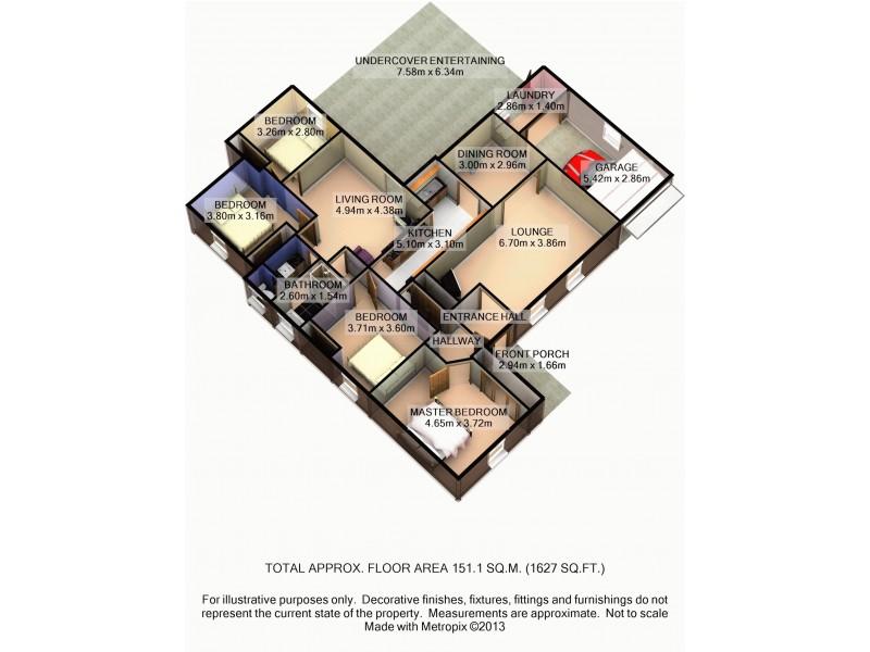 21 Elizabeth Street, Abermain NSW 2326 Floorplan