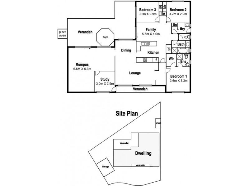 5 Burridge Close, Mill Park VIC 3082 Floorplan