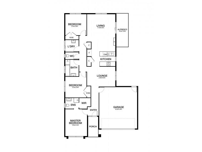 23 Dennerley Way, Truganina VIC 3029 Floorplan