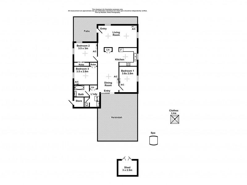 19 Widdup Crescent, Driver NT 0830 Floorplan