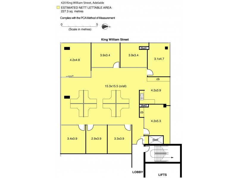 9 Part of/420 King William Street, Adelaide SA 5000 Floorplan