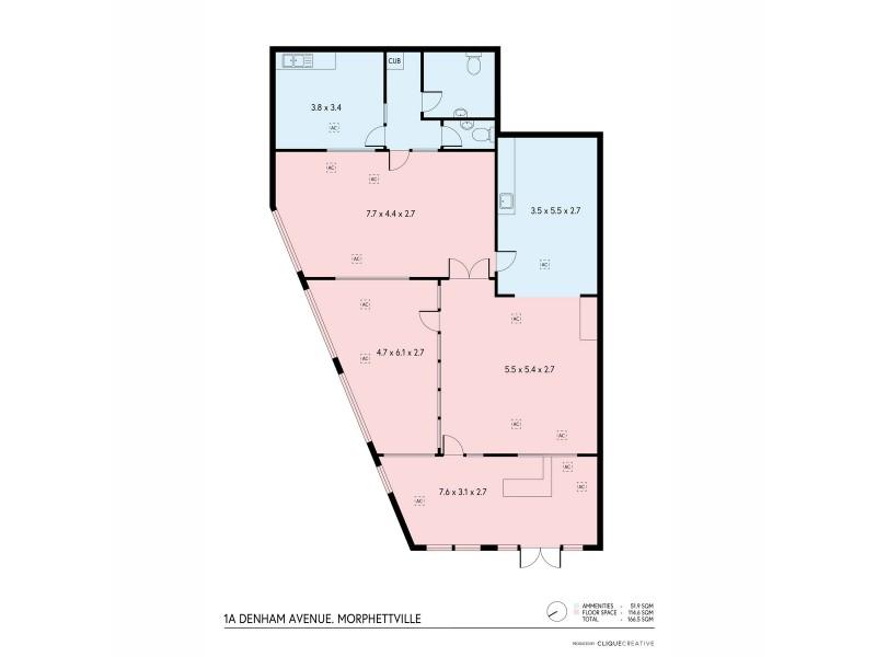 1a/1-11 Denham Avenue, Morphettville SA 5043 Floorplan