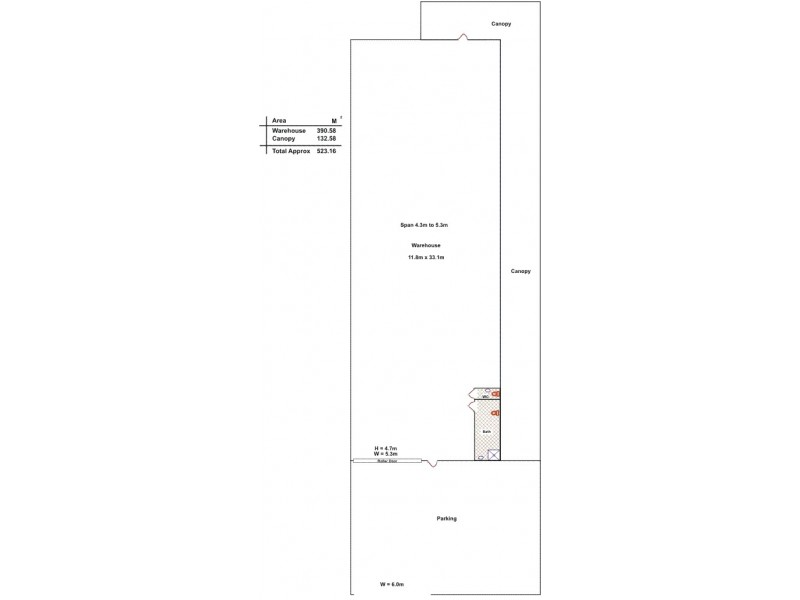 13-15 Murray Street, Albert Park SA 5014 Floorplan