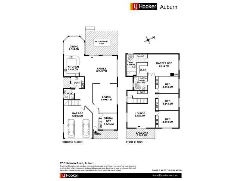 87 Chisholm Road, Auburn NSW 2144 Floorplan