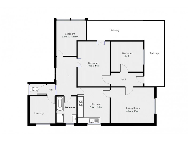 55 Redfern Street, Cowra NSW 2794 Floorplan