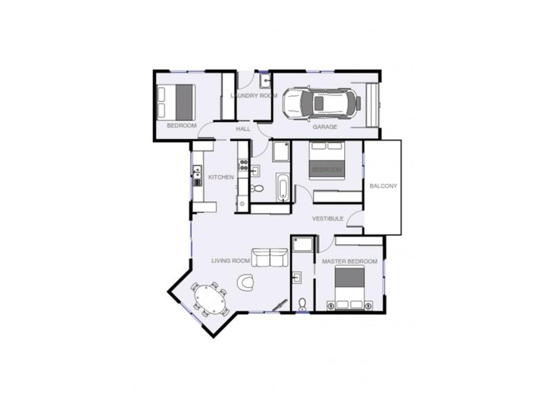 25 Acacia Circle, Cowra NSW 2794 Floorplan