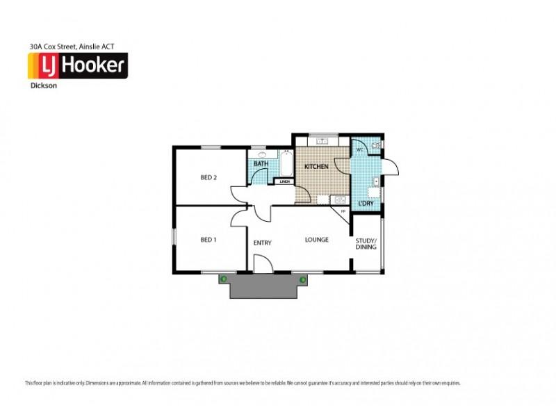 30A Cox Street, Ainslie ACT 2602 Floorplan